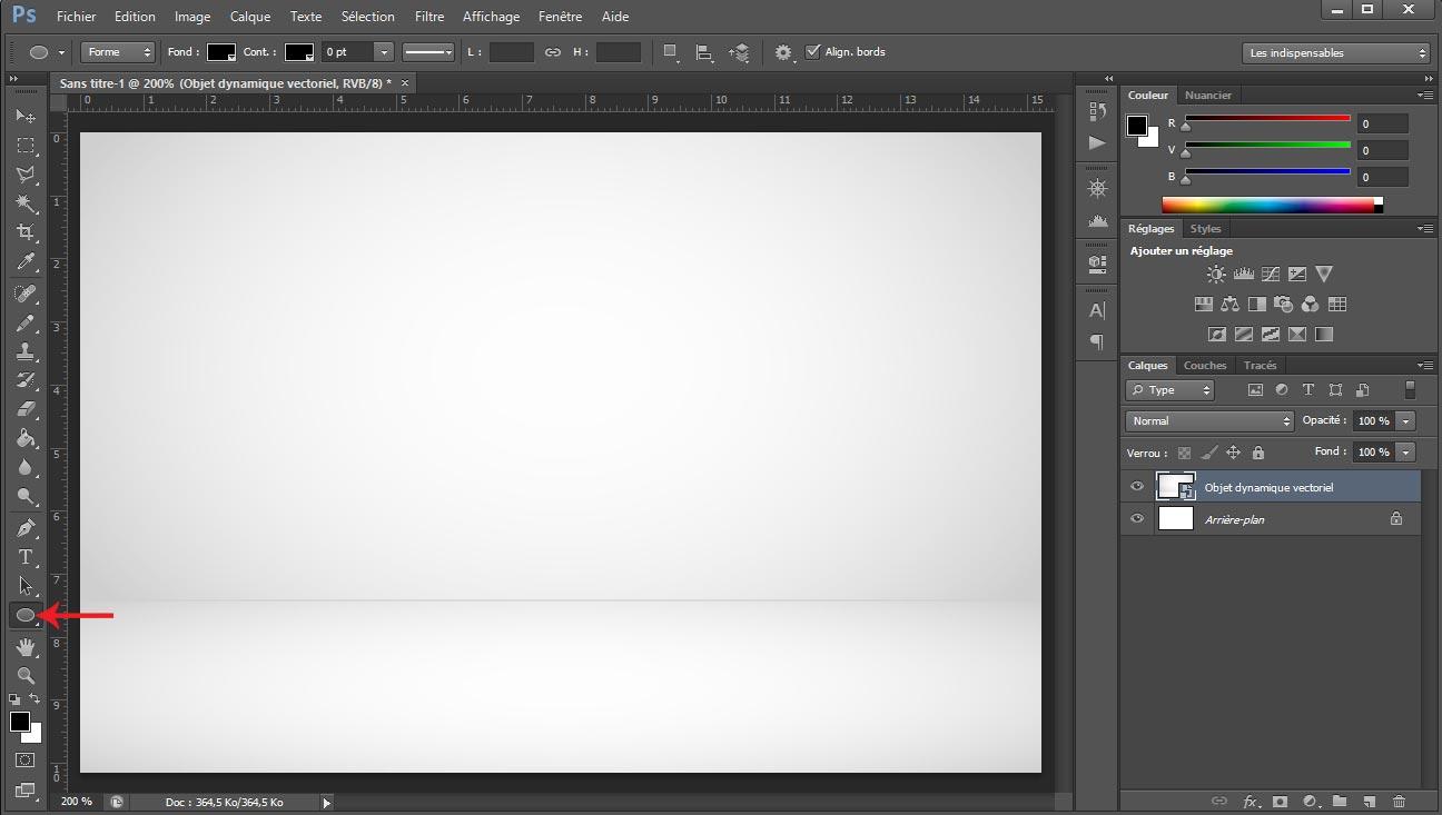 Tuto photoshop sphere screen 1