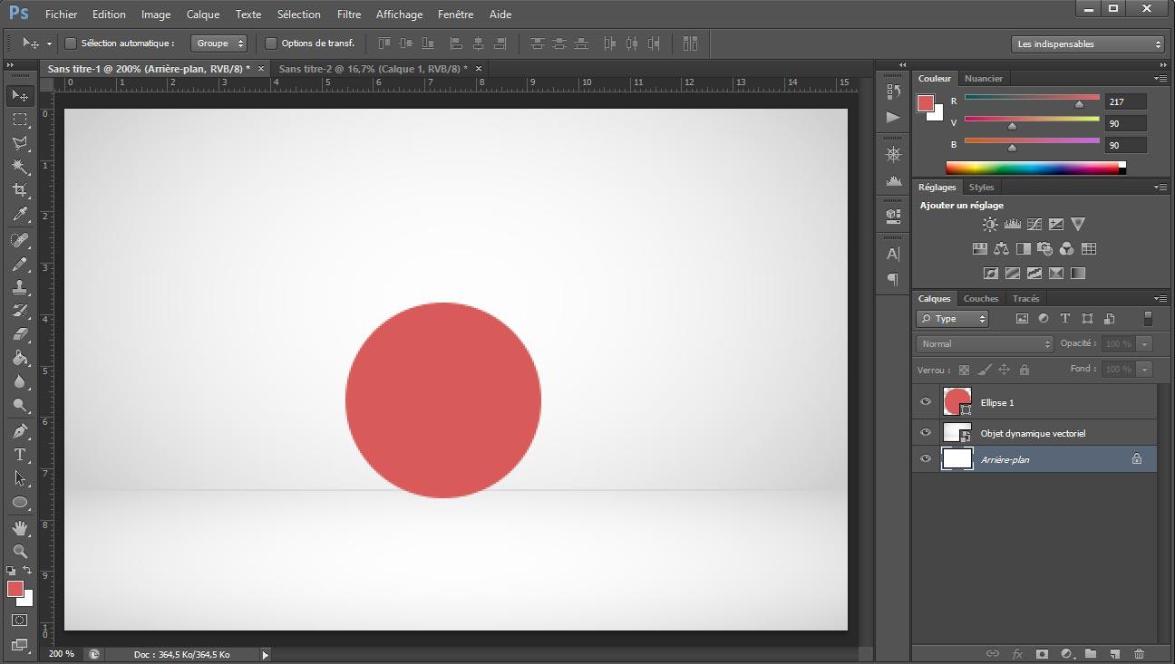 Tuto photoshop sphere screen 2