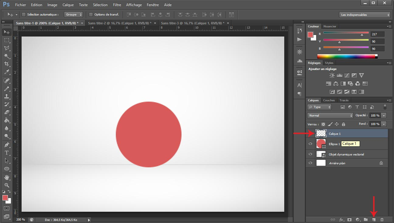 Tuto photoshop sphere screen 3