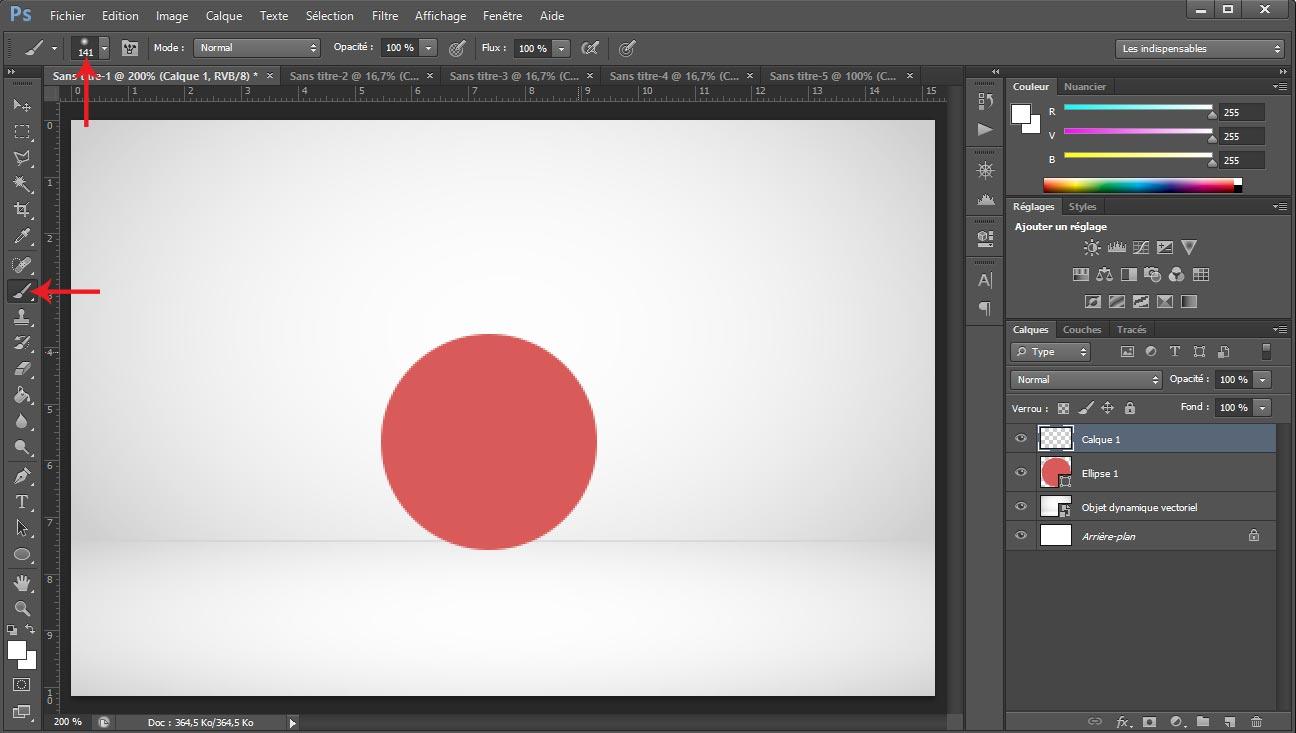 Tuto photoshop sphere screen 4