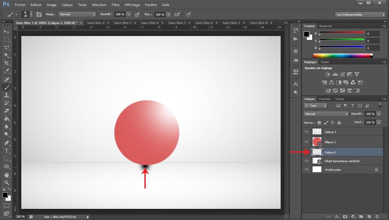 Tuto photoshop sphere screen 7