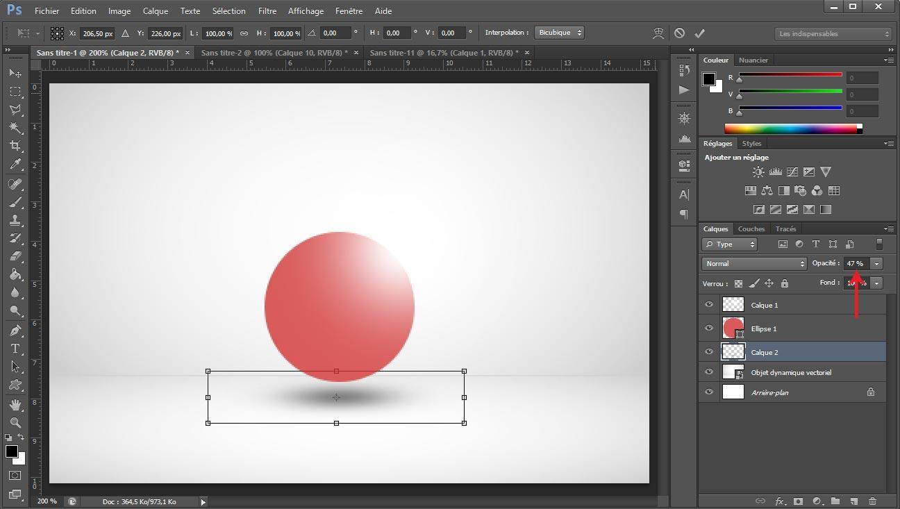 Tuto photoshop sphere screen 8