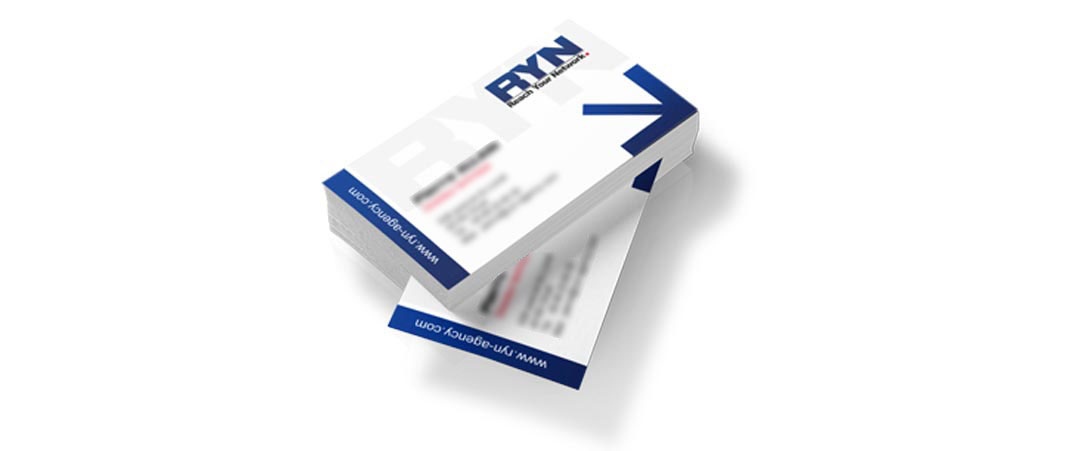 Carte de visite Reach Your Network RYN