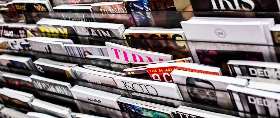 Création de page de magazine