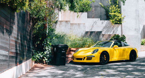 Identité visuelle site de vente de voitures