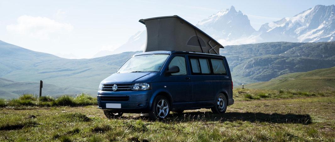 Logotype pour un site d'annonces camping-cars