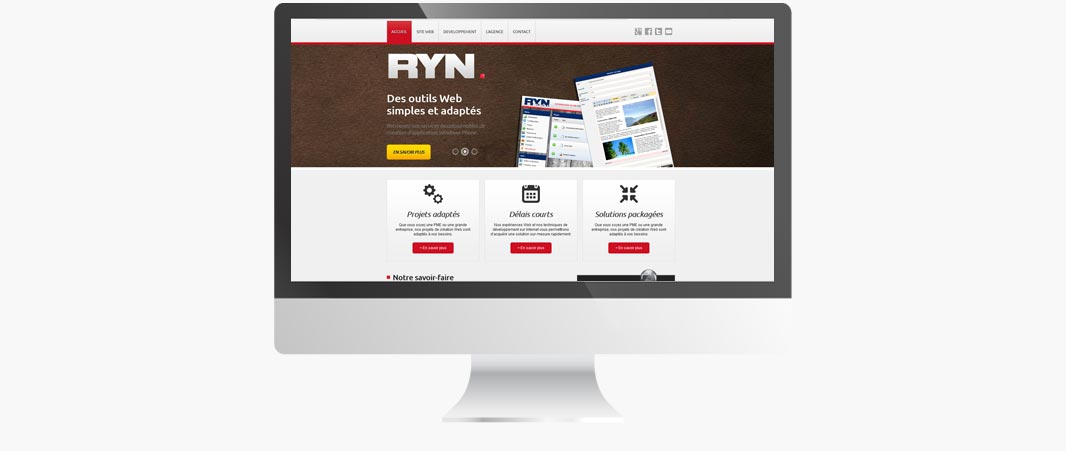 Site agence Web Reach Your Network
