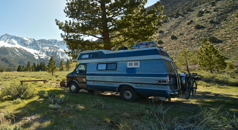 Site Internet d'annonces de camping-cars