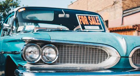 Site Internet  de voitures d'occasion