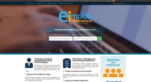 Site Internet Emplois Informatique