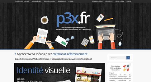 Site Internet p3x